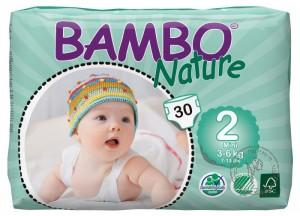Bambo Детские Эко-подгузники Mini (3-6 кг.), 30 шт.