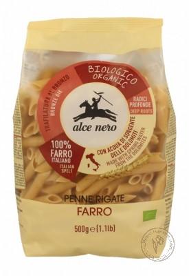 Alce Nero Макароны Penne Rigate из пшеницы Полба (спельта), 500 гр.