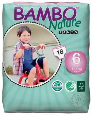 Bambo Детские Эко-подгузники-трусики XL-Plus (18+ кг.), 18 шт.