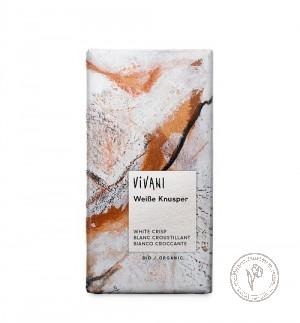 Vivani Белый хрустящий шоколад, 100 гр.