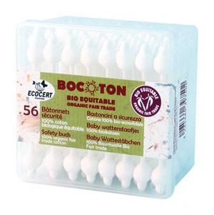 Bocoton Ватные палочки с ограничителем, 56 шт.
