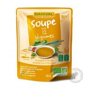 Danival Суп 12 овощей, 500 мл.
