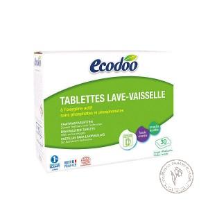 Ecodoo Таблетки для посудомоечной машины (30 шт), 600 гр.