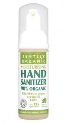 Bentley Organic Очиститель для рук увлажняющий, 50 мл.