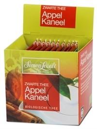 Simon Levelt Чай черный байховый ароматизированный *Яблоко и корица*, 17,5 гр.