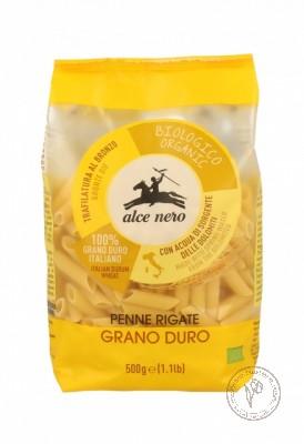 Alce Nero Макароны Penne Rigate из твердых сортов пшеницы, 500 гр.