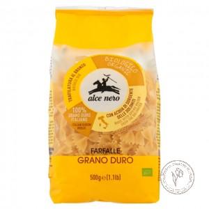 Alce Nero Макароны Farfalle из твердых сортов пшеницы, 500 гр.