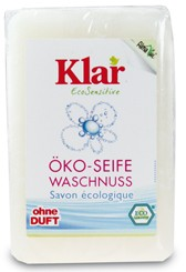 Klar Мыло на мыльном орехе кусковое, 100 гр.