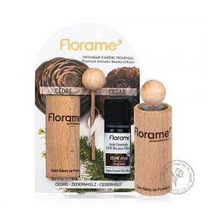 Florame Диффузор провансальский + Эфирное масло *Кедр атлантический*,  10 мл.