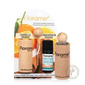 Florame Диффузор провансальский + Аромакомпозиция *Корица - апельсин*, 10 мл.