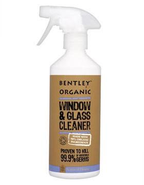 Bentley Organic Очиститель для стеклянных поверхностей, 500 мл.
