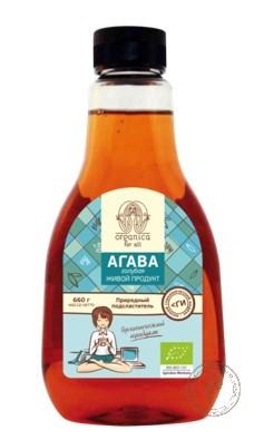 Organica for all Сироп агавы, 660 гр.