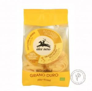 Alce Nero Макароны Tagliatelle (гнезда) из твердых сортов пшеницы, 250 гр.