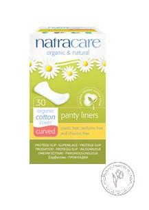 Natracare Прокладки гигиенические на каждый день Закругленные, 30шт.