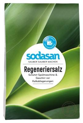 Sodasan Соль для посудомоечной машины, 2 кг.