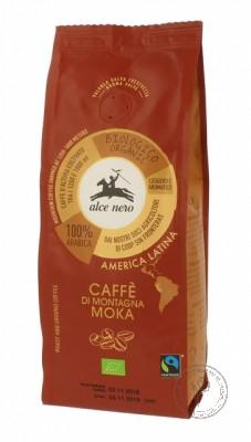 Alce Nero Кофе натуральный жареный молотый *Арабика*, 250 гр.