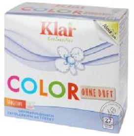 Klar Стиральный порошок концентрированный для цветного белья, 1,375 кг.