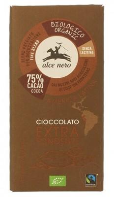 Alce Nero Горький шоколад, 100гр.