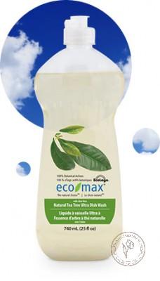 """Eco-Max Натуральное средство для мытья посуды """"Чайное дерево"""", 740 мл."""
