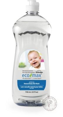 Eco-Max Натуральное средство для мытья детской посуды с алоэ вера, 740 мл.