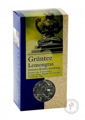 Sonnentor Зеленый чай с лемонграсс, 90 гр.