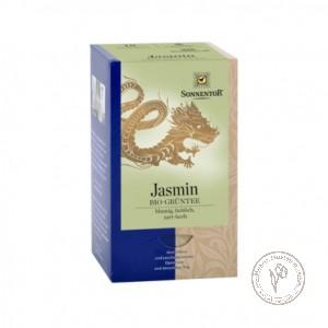 Sonnentor Зеленый чай с ароматом жасмина, 27 гр.