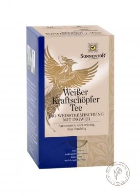 Sonnentor Белый чай с имбирем и травами, 27 гр.