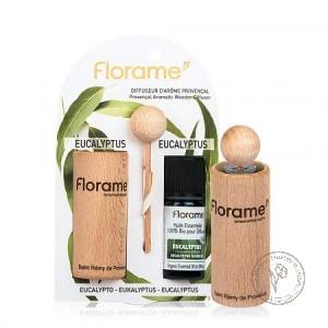 Florame Диффузор провансальский + Эфирное масло *Эвкалипт шаровидный*,  10 мл.