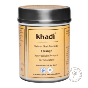Khadi Маска для лица «Апельсин», 50 гр.