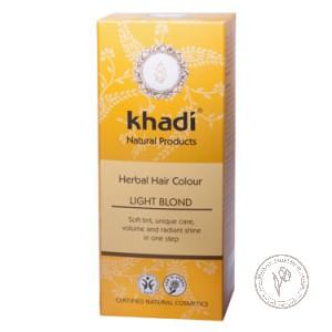 Khadi Растительная краска для волос «Светлый блондин», 100 гр.