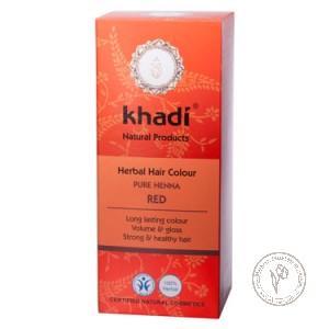 Khadi Растительная краска для волос «Хна красная», 100 гр.
