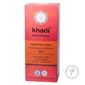 Khadi Растительная краска для волос «Хна, Амла и Ятрофа», 100 гр.