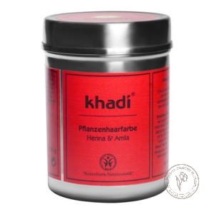 Khadi Растительная краска для волос «Хна и Амла», 150 гр.