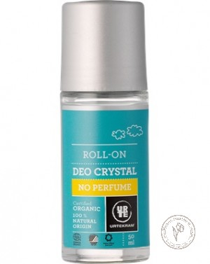 Urtekram Шариковый дезодорант-кристалл без аромата, 50 мл.