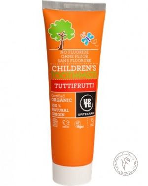 Urtekram Детская зубная паста фруктовая, 75 мл.