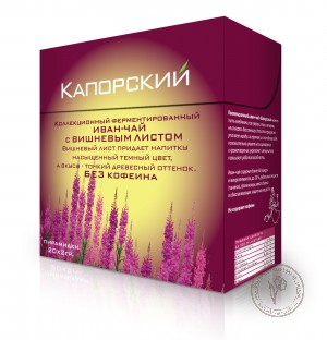 Капорский Иван-чай С вишневым листом, 40 гр.