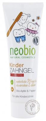 Neobio Гелевая зубная паста для детей, 50 мл.