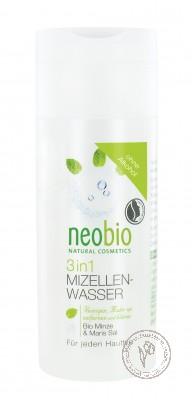 Neobio Мицеллярная вода 3 в 1, 150 мл.