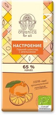 Organica for all Шоколад «Настроение», 100 гр.