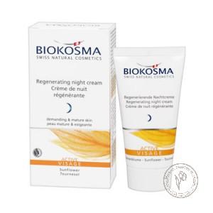 Biokosma Регенерирующий ночной крем для лица «Актив», 50 мл.