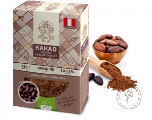Organica for all Какао-порошок, 250 гр.