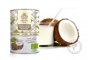 Organica for all Кокосовое молоко, 400 мл.