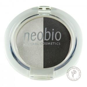 NeoBio Тени для век двойные № 03 туманная ночь, 2,5 гр.