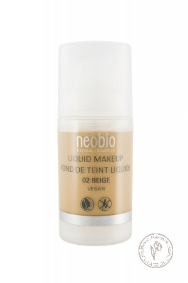 NeoBio Тональный крем №02 бежевый, 30 мл.