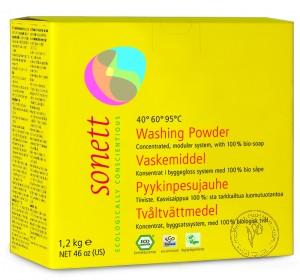 Sonett Мыльный порошок для стирки (концентрат), 1.2 кг.