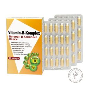 Salus Витамин-В-Комплекс, 60 капсул по 380 мг.