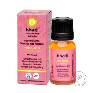 Khadi Масло для лица и тела «Розовый Лотос», 10 мл.