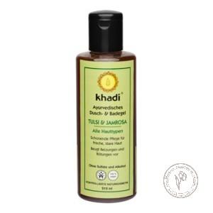 Khadi Гель для душа и ванны «Тулси - Джамроза», 210 мл.