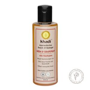 Khadi Гель для душа и ванны «Ниим - Грейпфрут», 210 мл.