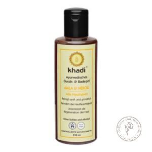 Khadi Гель для душа и ванны «Амла - Нероли», 210 мл